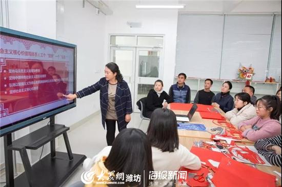 山东工业技师学院探索思政+文化双重育人新模式