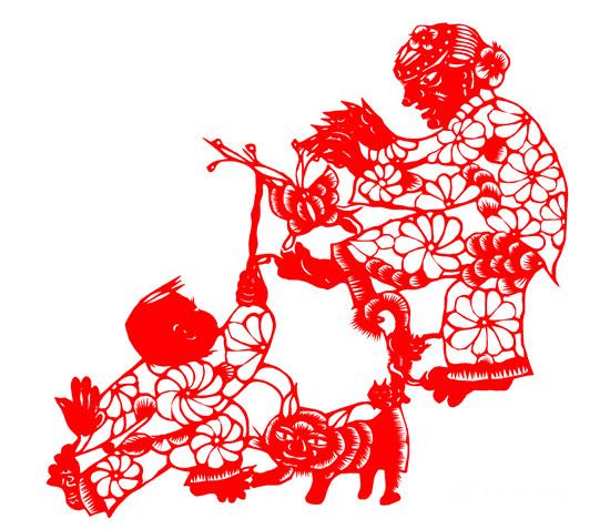 扑蝴蝶是青州传统的民间舞蹈,其动作诙谐幽默,生动活泼,通过表演老太太追逐蝴蝶的过程,表现了古代百姓对大自然的热爱和对美好生活的向往,现为市级非物质文化遗产。   剪纸是一种用剪刀或刻刀在纸上剪刻花纹,用于装点生活或配合其他民俗活动的民间艺术。剪纸具有广泛的群众基础,交融于各族人民的社会生活,是各种民俗活动的重要组成部分。其传承赓续的视觉形象和造型格式,蕴涵了丰富的文化历史信息,表达了广大民众的社会认以、道德观念、实践经验、生活理想和审美情趣,具有认知、教化、表意、抒情、娱乐、交往等多重社会价值。