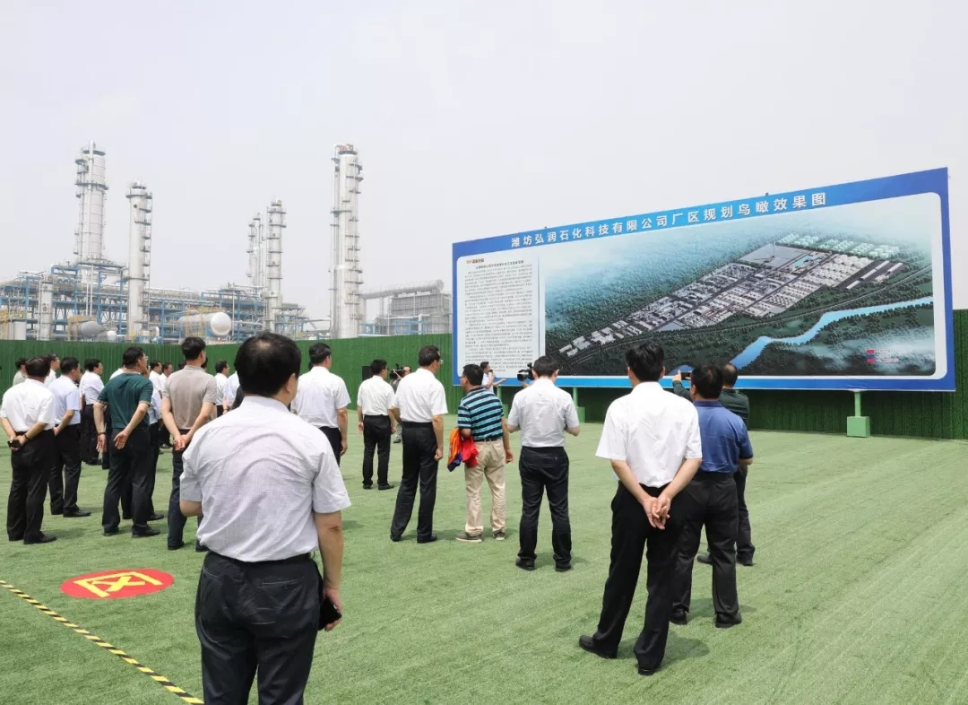 中化石油_此外,以80万吨/年间二甲苯中间体原料加工项目为基础,中化弘润石油