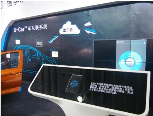 /雷丁U/CAR车互联系统创领国民电动汽车未来