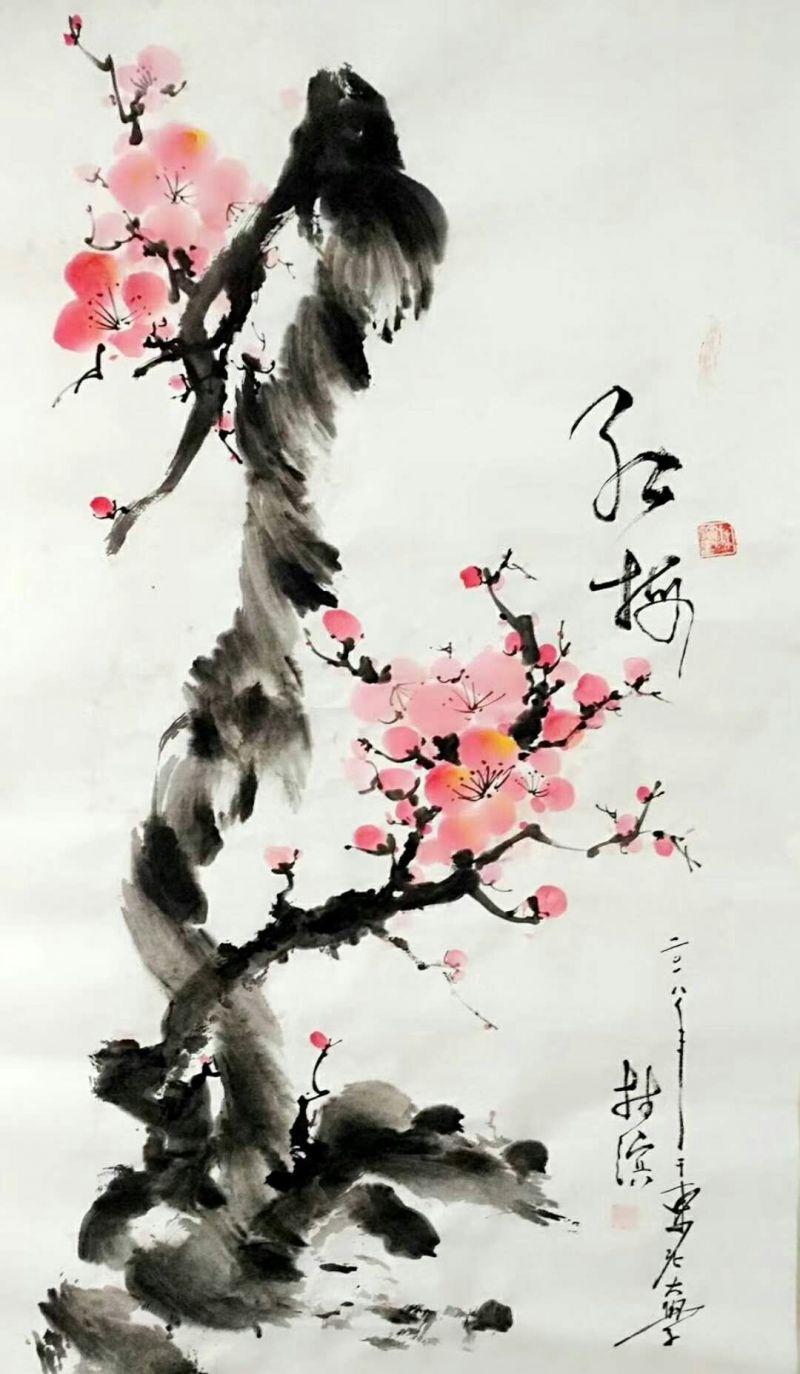 专访寿光籍画家林滨:素手绘心源 只为心中那份情缘